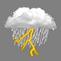 Pluie dans la matinée / Glace