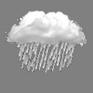 Light Rain Shower / Windy- météo Ain Oussera