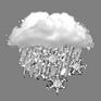 أمطار و ثلج