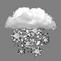 Neige (1–3 cm.) dans la matinée et venté jusque dans la soirée.